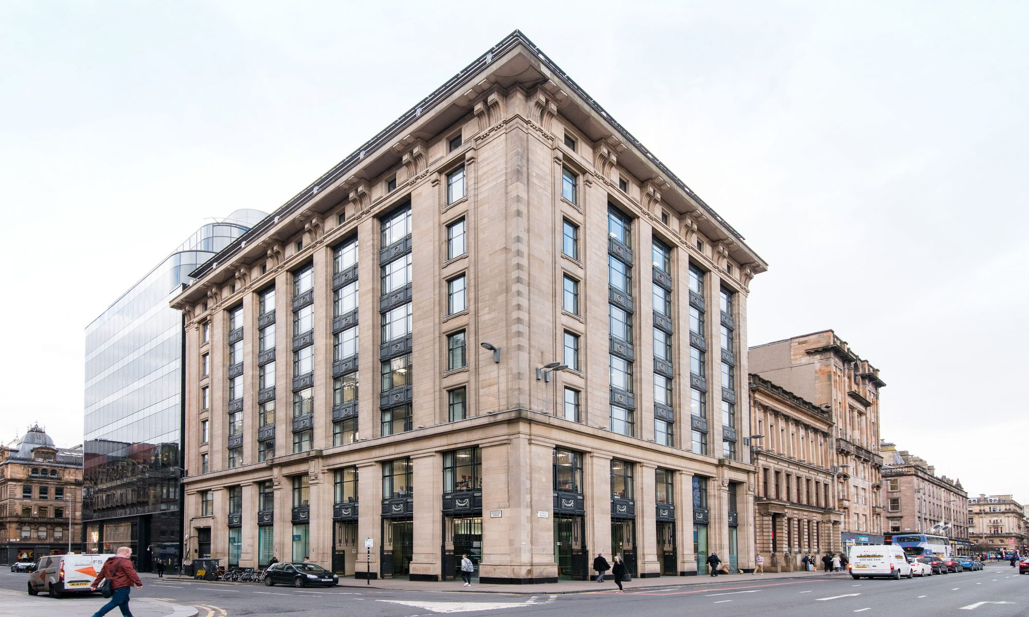 serviced office george square glasgow